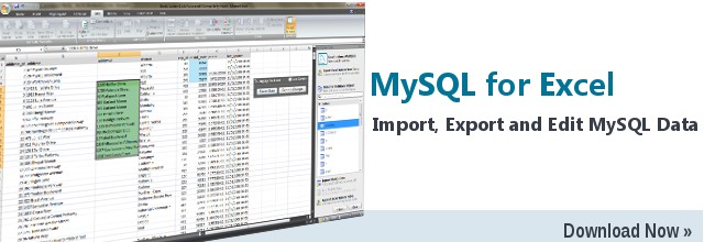 Moving on From Excel to MySQL